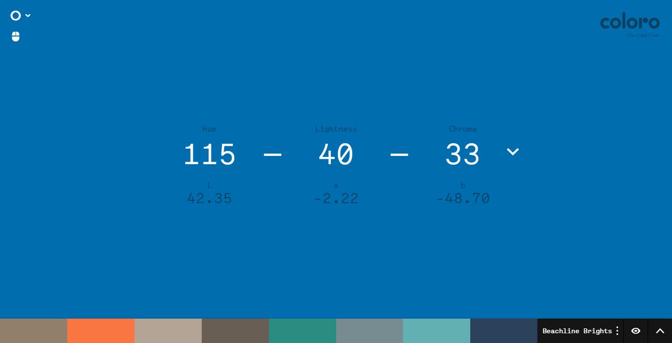 Coloro Workspace