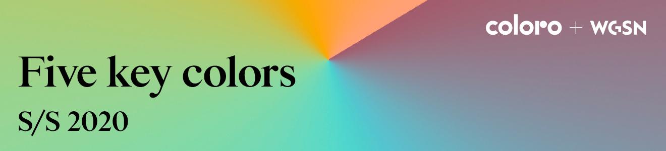 Five Key Colors S/S 2020